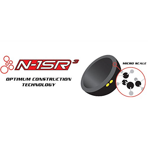 Dunlop Raquetbol 3 Bola Caja Competici/ón Bolas Para Principiantes /& Mejoradores De