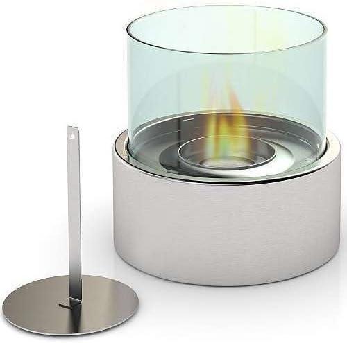 Kamin geh/ärtetem Glas Kamin Feuerstelle Brenner Bio Ethanol Bioethanol