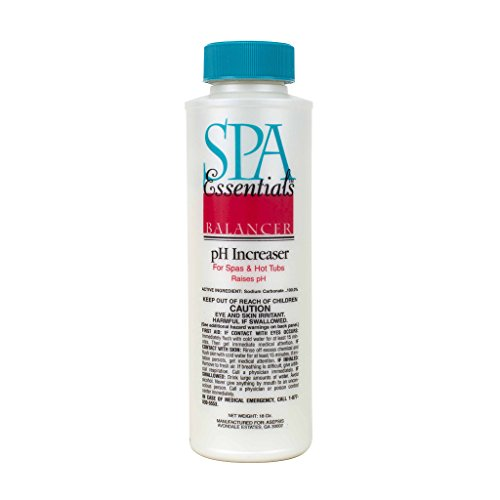 Spa Essentials 32518000 pH Increaser Granules for Spas and Hot Tubs, 18-Ounce