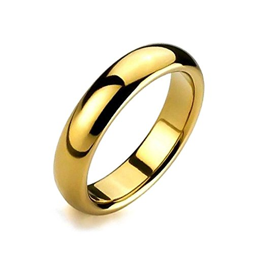 925 Silver Many Lines (6mm Stainless Steel Wedding Eternity Ring Band, Comfort Fit, Flash Gold Plated Ring Size)