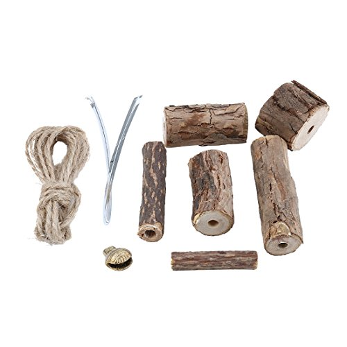 uxcell KOTA PET Authorized DIY Silvervine Catnip Jute Rope Snake Design Cat Chew Stick Toys