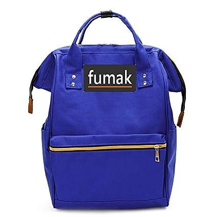 Amazon.com: Laptop Backpack - Fashion Women Backpack Shoulder Bag Laptop Backpack Schoolbags for Teenager Girls Boys Travel Bag Mochila Feminina (Blue): ...