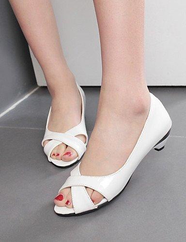 Talons Rose Peep Shangyi Noir Femmes Casual Sandales Chaussures 9 Talon Blanc Bleu 3 Talons Toe Robe Extérieur Noir SCREqnw5