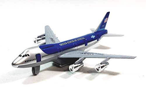 SF Toys Boeing 747 Air Force One Flyiing Oval Office Presidential Aircraft (1990- Present Colors) 7.5