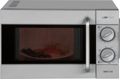 Clatronic MWG 765 - Horno microondas con grill, color plateado ...