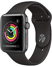 Apple Watch Series 3 (GPS, 42‑mm) - Kast van SpaceGrijs Aluminium Zwart Sportbandje