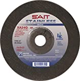 United Abrasives 9'' X 1/8'' X 7/8'' XA24Q 24 Grit Proprietary Blend Type 27 Cut Off Wheel, 25 Each