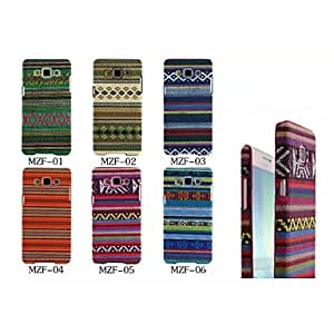 LHY Rainbow Folk Style PU Back Cover Case with Stand for Samsung Galaxy A5(Assorted Colors) , 6#