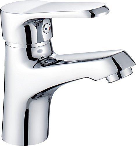 Cloud Power Bathroom Sink Faucet Single Handle Single Hole Deck Mount Lavatory Faucet,Chrome - Handle Deck Mount Bar