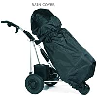 Pac Mac Golf Bag Rain Cover Fits All Trolley Bags - Black by Puregolfonline