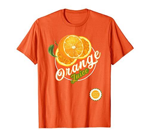 Orange Juice Box Halloween Costume shirt for Box