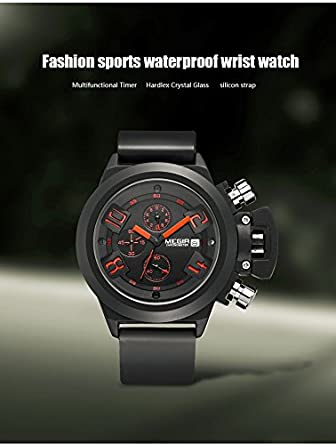 Amazon.com: Relojes de Hombre Fashion Mens Formal Quartz Wrist Watches Waterproof Business Dress Watch for Men RE0044: Watches