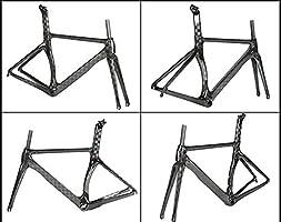 Cuadro de bicicleta de carretera de fibra de carbono 18K con ...