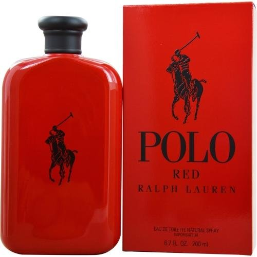 Ralph Lauren Polo Red Eau de Toilette Spray, 6.7 Ounce