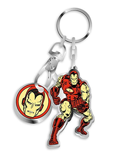 Vistoenpantalla Llavero Iron Man, 10 cm. Marvel: Amazon.es ...
