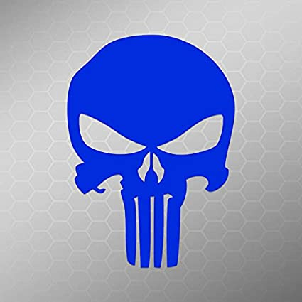 Punisher Skull Vinyl Car Window Laptop Decal Sticker