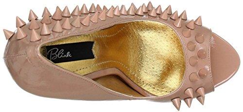 Blink - Zapatos de vestir de charol para mujer rosa carne rosa - carne