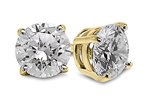 Diamond Studs Forever 14K Yell