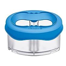 Pelikan 4012700800312 - Botes de agua para pintura (Azul, Transparente, Azul)