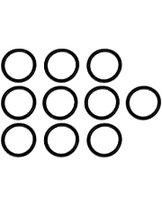 Quick Release Fasteners Replacement Bumper Fender Fasteners O Rings 10pcs Car Bumper Fender Quick Release Fasteners Bands O?Ring Gaskets Rubber Unicersal