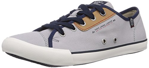 Pepe Jeans London BRITT CLASSIC Herren Sneakers Grau (925MIDDLE GREY)