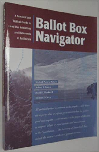 Ballot Box Navigator: A Legal Guide to Land Use Initiatives and Referenda in California