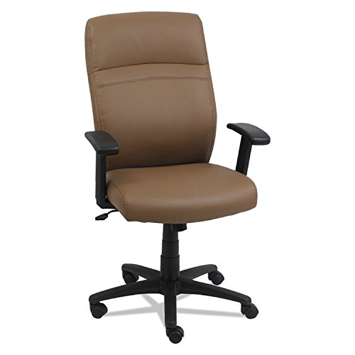 Alera ALECA4159 High-Back Swivel/Tilt Chair, Taupe/Black