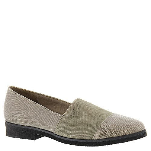 Cradles Loafers Lizard Mid Frauen Walking Taupe Patent awOTq