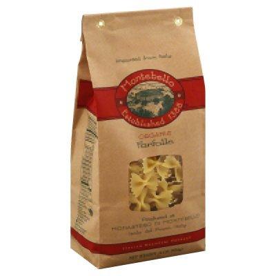 Montebello Organic Semo Strozzapreti Pasta, 1 Pound - 12 per case.