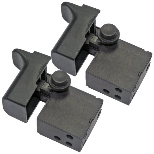 Ryobi AG452K/AG453 Angle Grinder (2 Pack) Replacement Switch # 039028001045-2pk (Ryobi Grinder Parts)