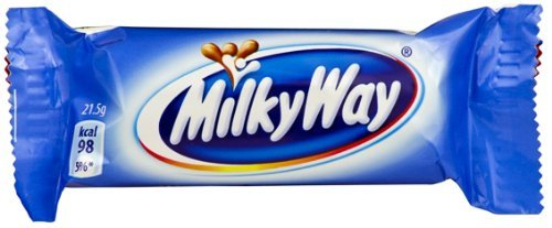 European Milky Way Chocolate Bars [Pack of 10] (Way Milky Bar Candy)