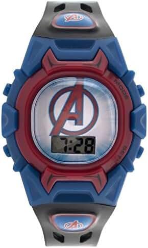 Marvel Boy's Quartz Plastic Casual Watch, Color:Black (Model: AVGKD130)