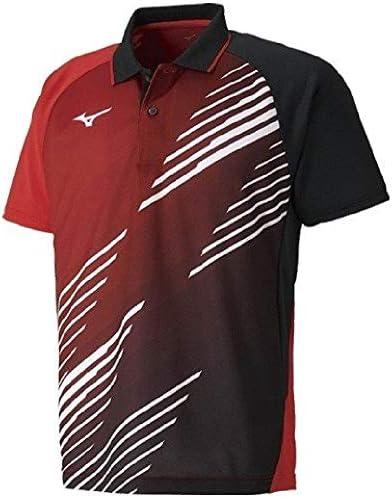 ゲームシャツ 半袖 ポロシャツ メンズ レディース ミズノ mizuno スポーツウェア 卓球 テニス ソフトテニス バドミントン/82JA9007【取寄】【返品不可】