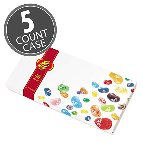 (Jelly Belly Jelly Beans GiftBox, 40 Flavors, 17-oz)