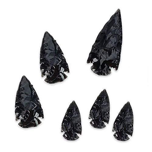 Stone Tone One Black Obsidian Arrowhead Collection
