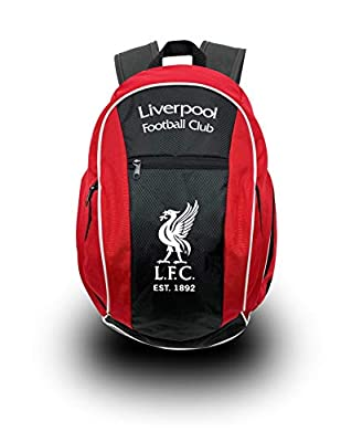 Liverpool FC Backpack, Official Liverpool School, Mochila, Book Bag Cinch, Shoe Bag, Soccer Ball Backpack
