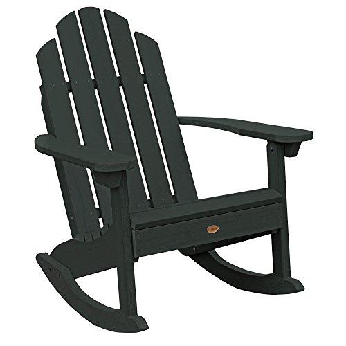 Highwood AD-ROCCW30-CHE Westport Rocking Chair, One Size, Charleston Green