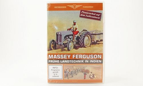 DVD Massey Ferguson - early agricultural technology in india , Model Car, Ready-made, WK&F - India Made In Model