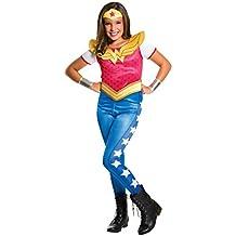 Rubies Costume Kids DC Superhero Girls Wonder Woman Costume, Small
