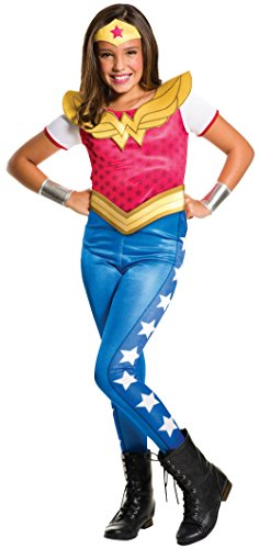 Rubie's Costume Co DC Superhero Wonder Woman Costume for Kids -