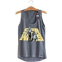 Camiseta Feminina Star Wars Droids
