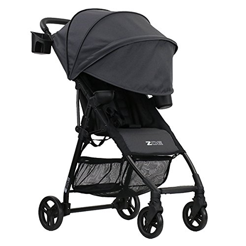(ZOE XL1 Best Lightweight Travel & Everyday Umbrella Stroller System (Noah Grey))