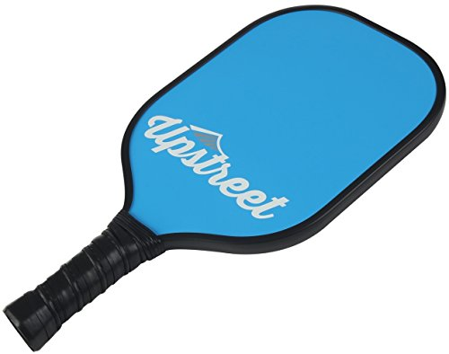 Graphite Ball - Upstreet Graphite Pickleball Paddle with Neoprene Pickleball Paddle Cover - Lightweight Polypropylene Honeycomb Composite Core