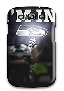 New Tpu Hard Case Premium Galaxy S3 Skin Case Cover(seattleeahawks )