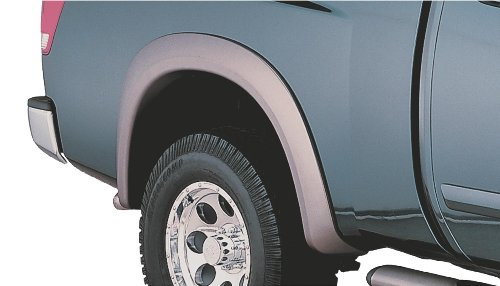 - Bushwacker 70010-02 Nissan Extend-A-Fender Flare - Rear Pair