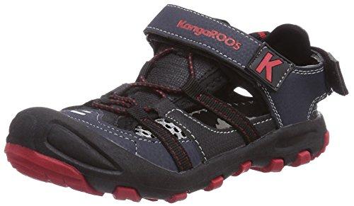 KangaROOS KangaSpeed 2068 - zapatilla deportiva de material sintético niño azul - Blau (dk navy/flame red 461)