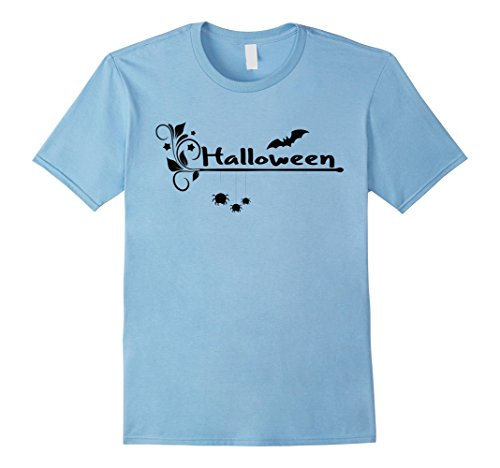 Mens Halloween Funny T-shirt | Awesome Halloween Shirt 2XL Baby Blue