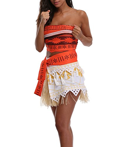 Princess Costume Women's Girl's Adventure Fancy Halloween Party (Adult Princess Outfits)