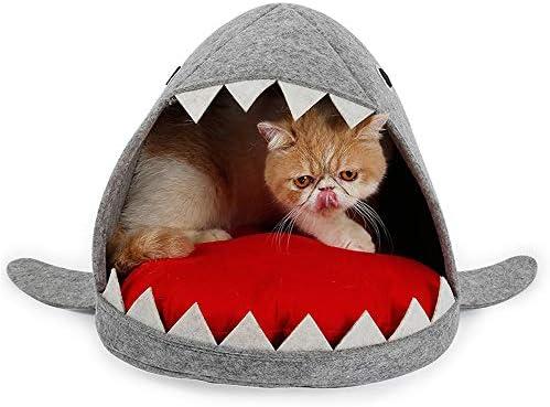 sûr y confortable de nido de Animal de compañía en forma de tiburón para Garder AU