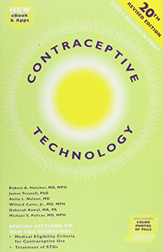 Top contraceptive technology 21st edition for 2019